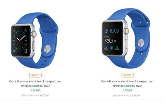 Apple Watch nuovo cinturino