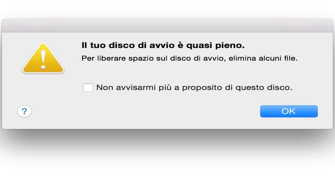 Come liberare spazio su Mac Guida