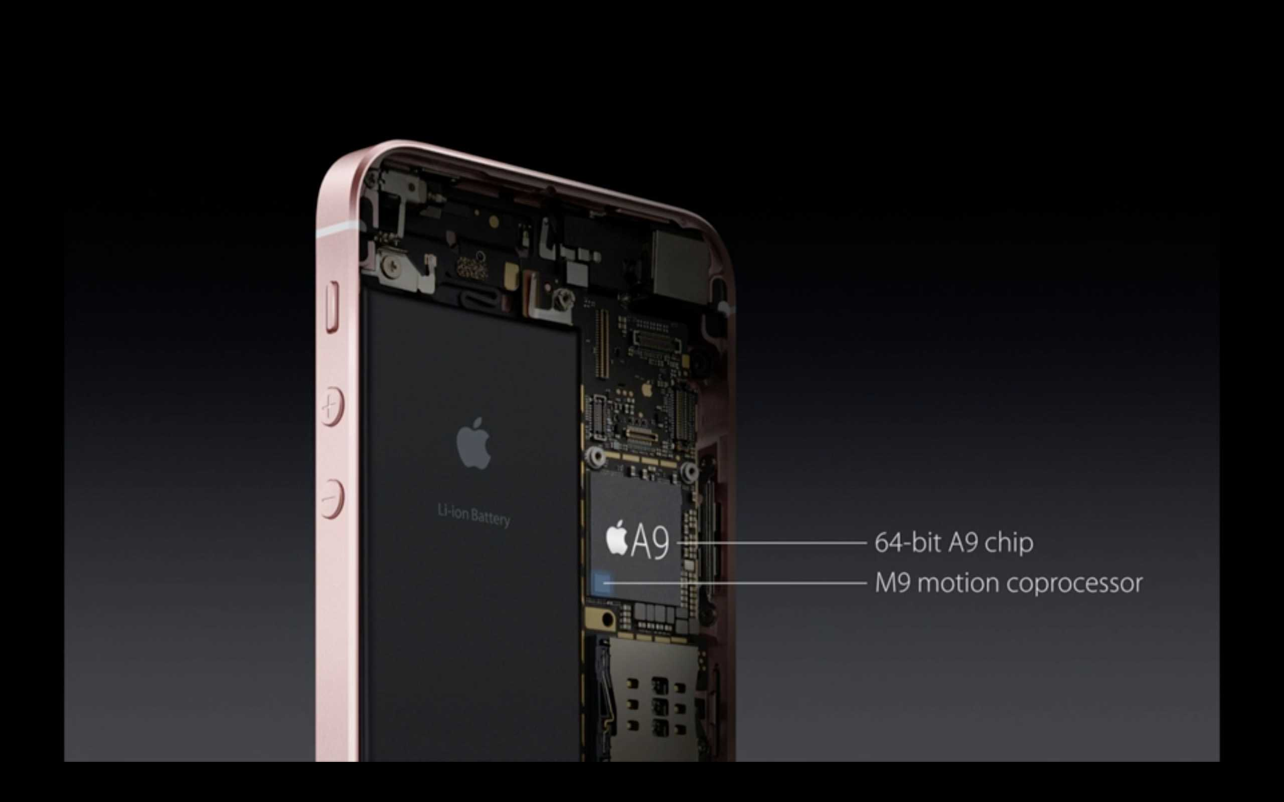 Hardware iPhone SE