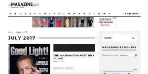eMagazinePDF è un sito internazionale che da grande visibilità a giornali e riviste estere