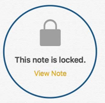 Come proteggere le Note con Touch ID