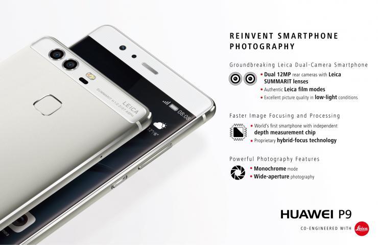 Doppia fotocamera Huawei