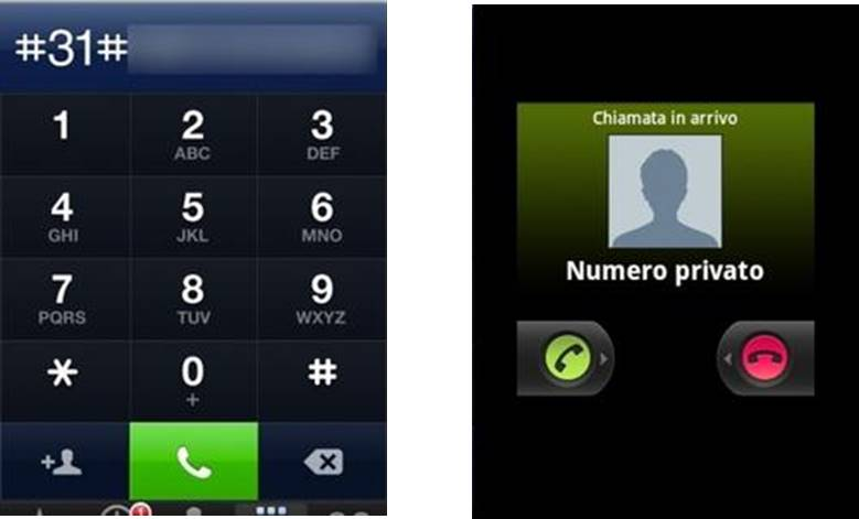 come bloccare numeri privati Android