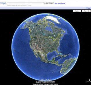 Earth View from Google Earth le migliori estensioni ufficiali di Google per Chrome