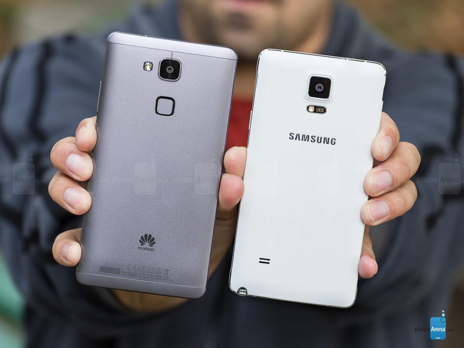Huawei fa causa a Samsung per violazione dei brevetti
