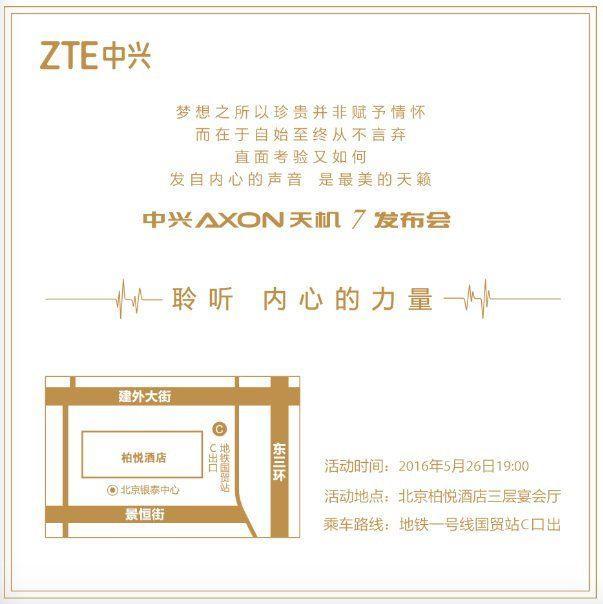 Uscita ZTE Axon 7
