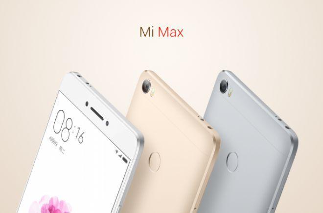 Xiaomi presenta Mi Max, il nuovo super-phablet