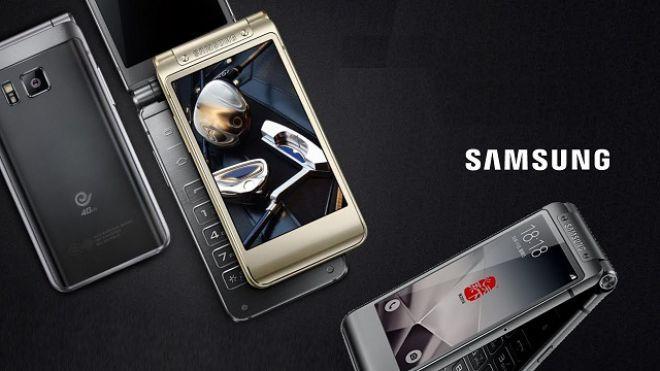 Nuovo smartphone a conchiglia Samsung