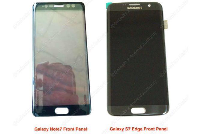 Galaxy Note 7: esiste una variante da 6 pollici