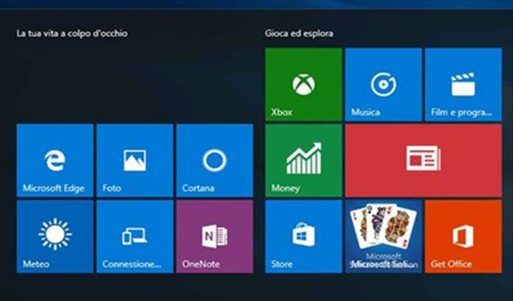 file scomparsi Windows 10