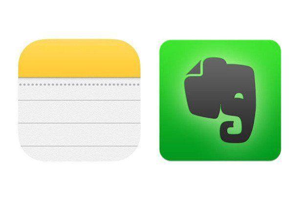 Evernote Note di Apple