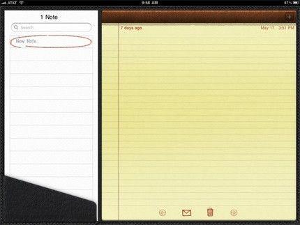 Note di Apple migrazione da Evernote