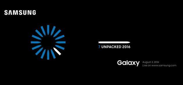 Presentazione Galaxy Note 7