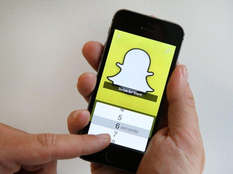Snapchat su Android funzioni