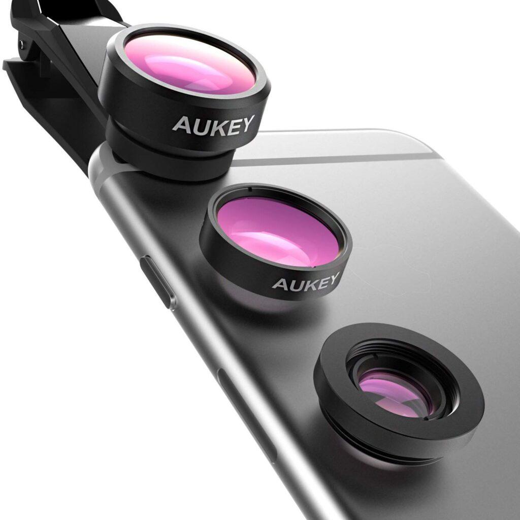 aukey obiettivi clip on per smartphone_ promo