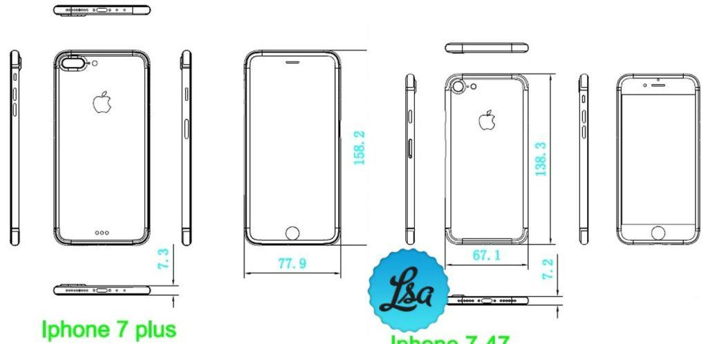 iphone 7 design simile ad iphone 6 e 6s