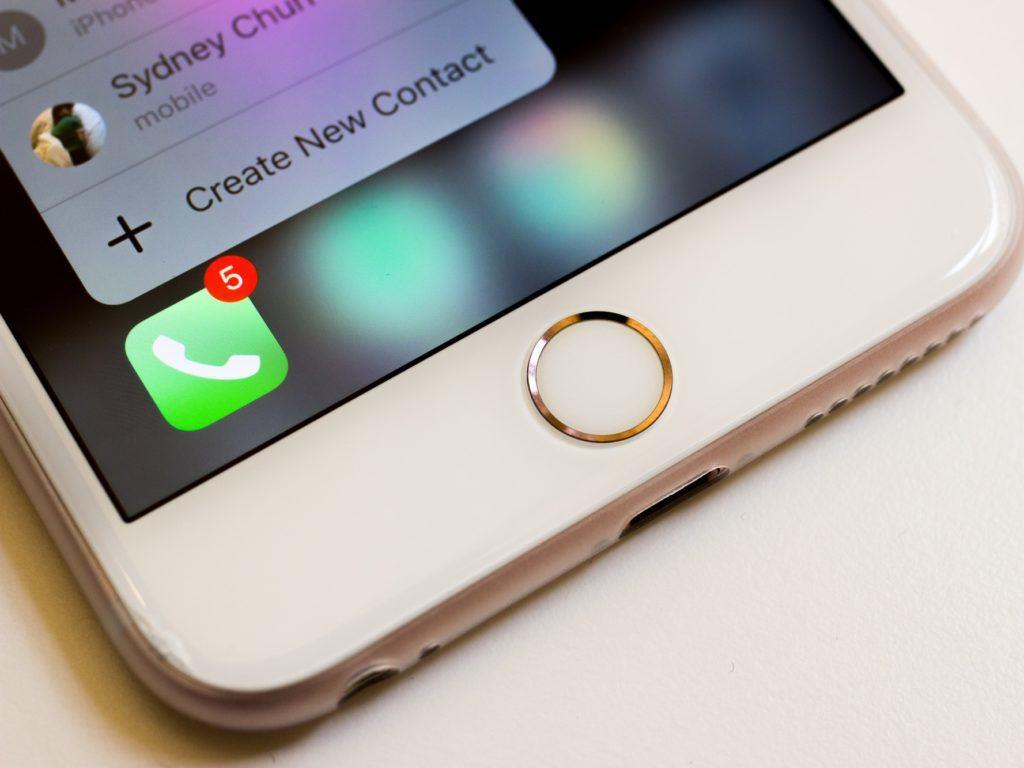 iphone 7 potrebbe non avere tasto home