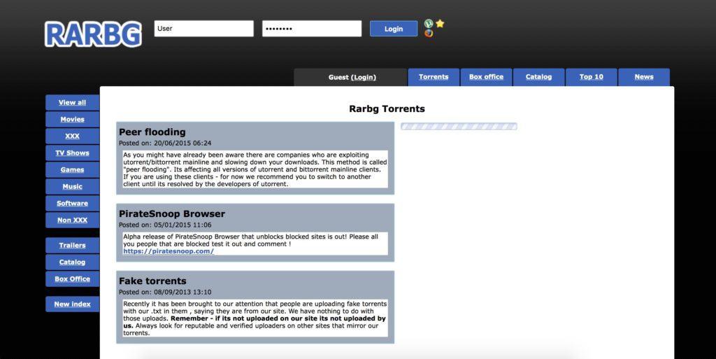 rarbg da semplice tracker a uno dei più grandi siti per il download torrent in pochi anni