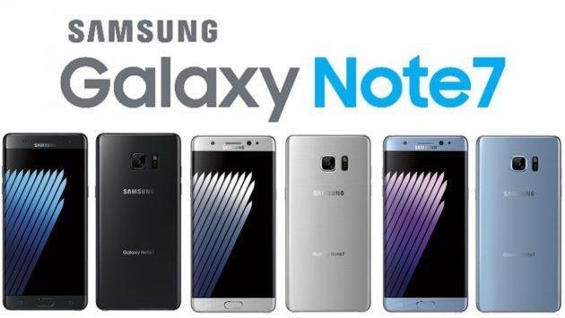 Drop test Samsung Galaxy Note 7