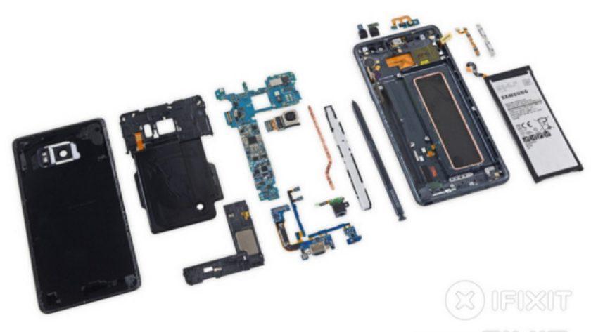 Teardown Galaxy Note 7
