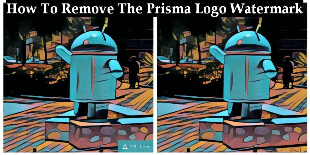 rimuovere il watermark su Android Prisma Prisma
