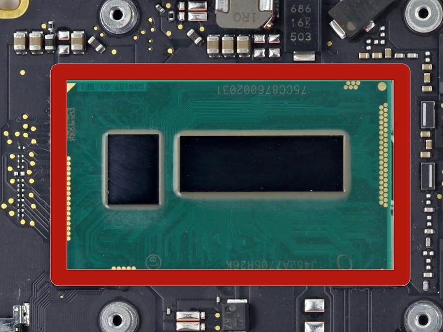 I processori Intel SkyLake si occuperanno di gestire le operazioni del nuovo macbook pro