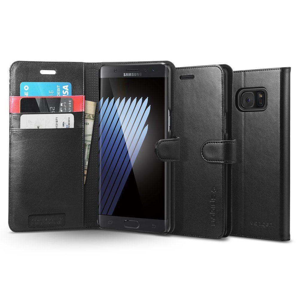 Spigen Wallet S è una delle migliori custodie in pelle per Samsung Galaxy Note 7