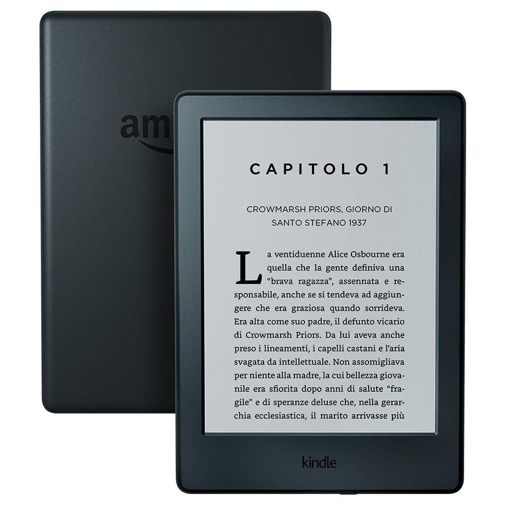 Kindle touch è l'alternativa ideale per chi vuole leggere in mobilità senza preoccuparsi di hardware e durata della batteria