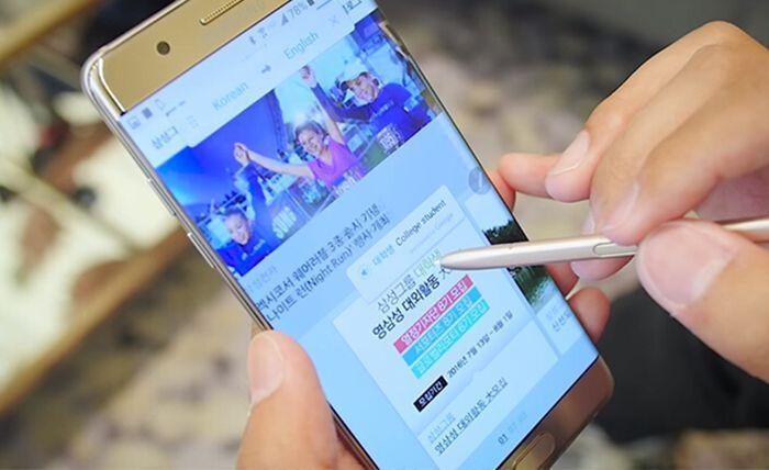 Traducete qualsiasi testo in pochi secondi grazie alla funzione Translate della S-Pen di Note 7