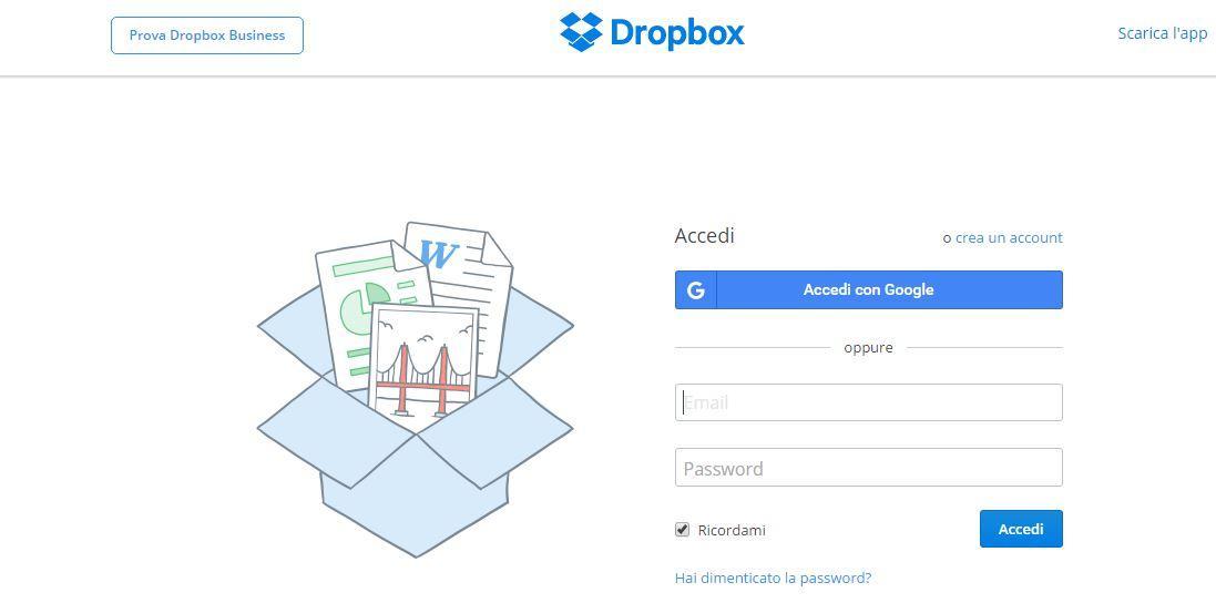 Come aumentare spazio in Dropbox