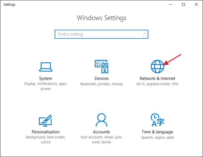 condividere-la-connessione-internet-con-windows-10-passo-1