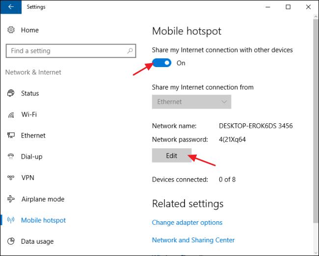 condividere-la-connessione-internet-con-windows-10-passo-3