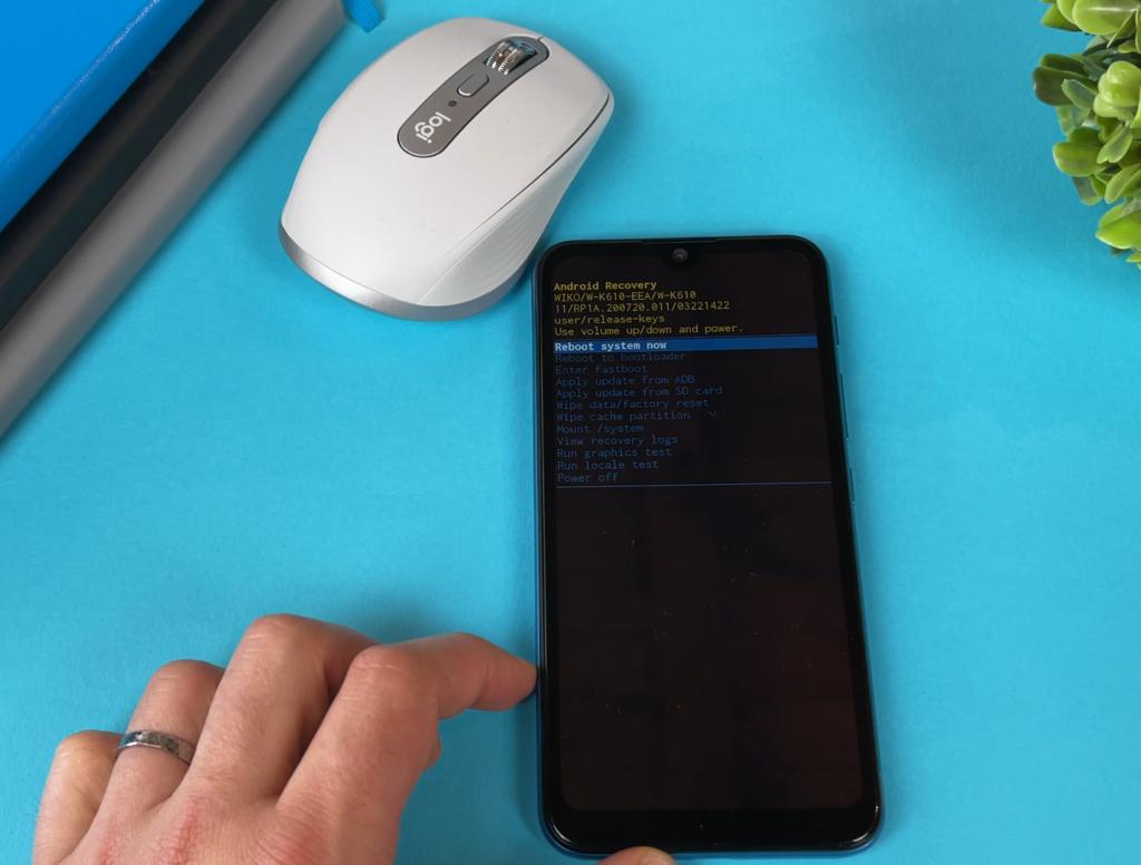 guida hard reset ripristino smartphone wiko - android recovery - passaggio 4
