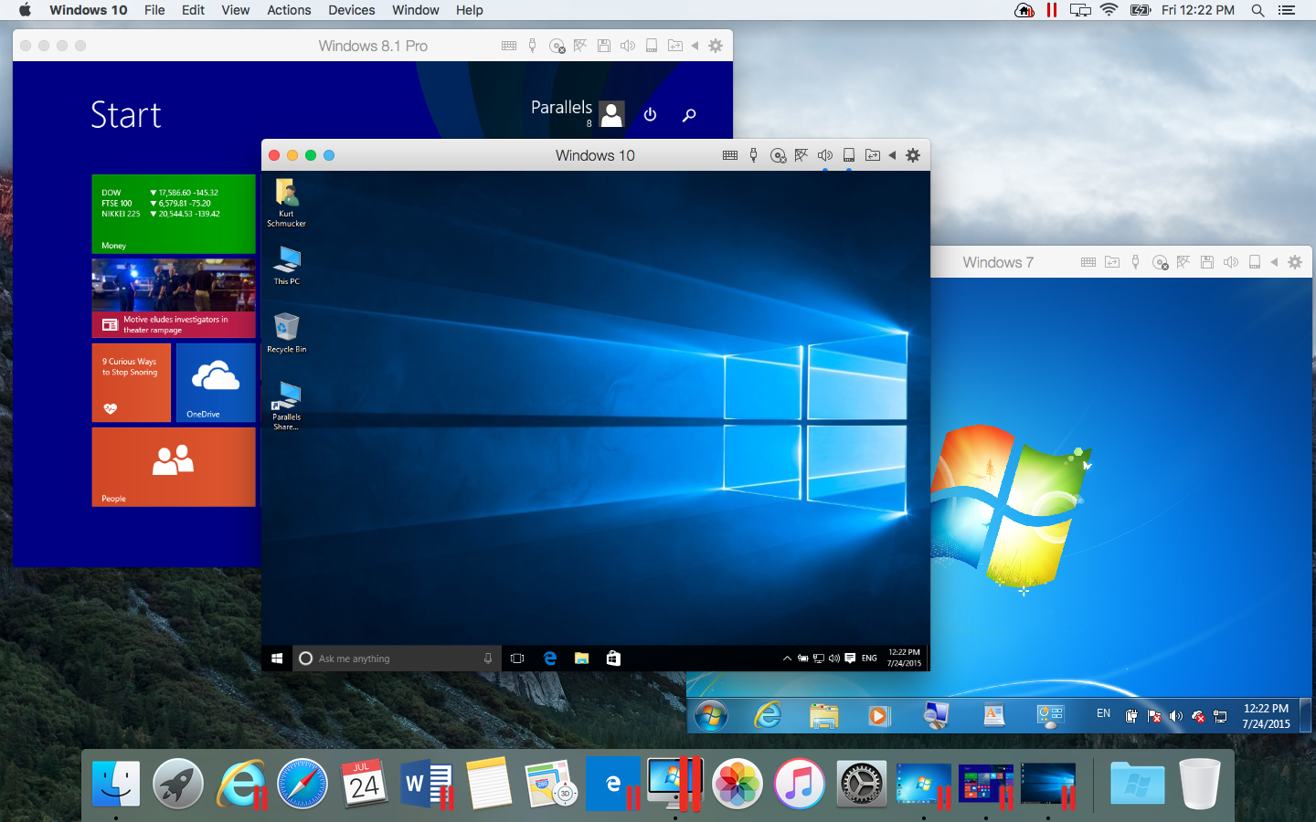 Parallels Desktop 12 per Mac: la recensione del software per emulare Windows su Mac