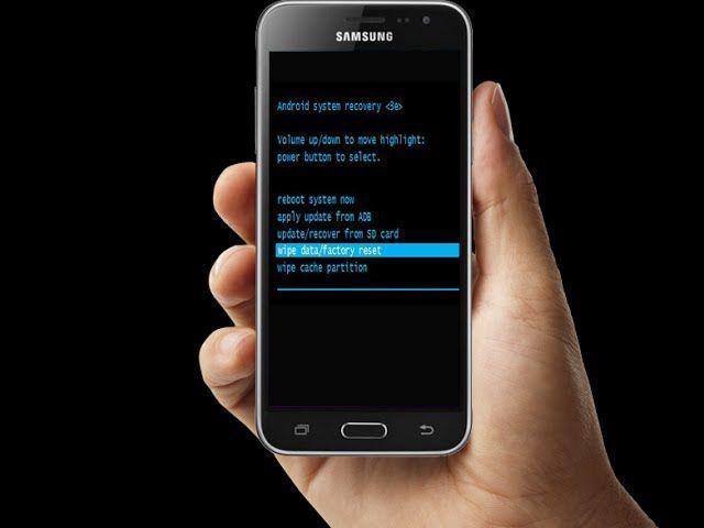 Come fare Hard Reset Samsung Galaxy J3 2016