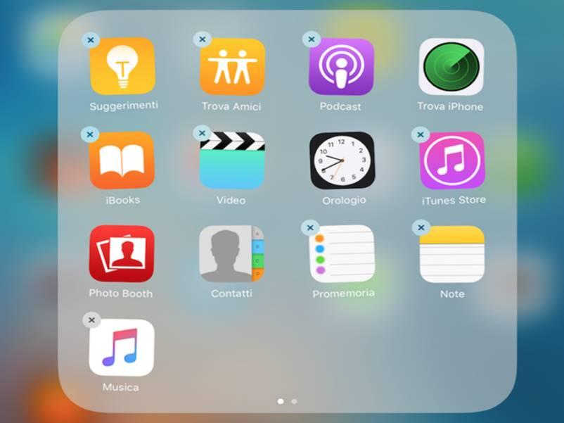 Come rimuovere le app di sistema su iOS 10