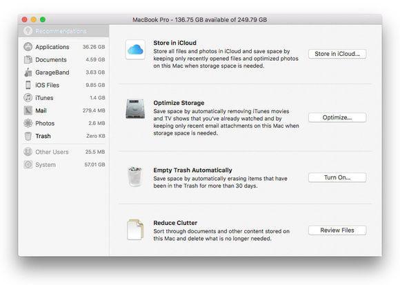 sierra-optimized-storage-menu