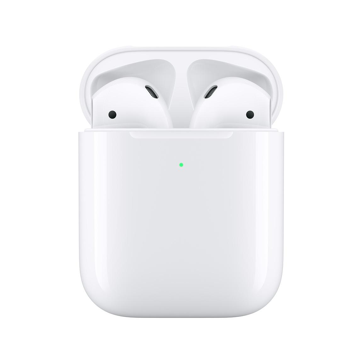 Gli Apple AirPods di seconda generazione