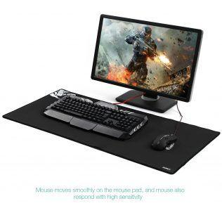 AUKEY Gaming Mouse Pad XXL in uso