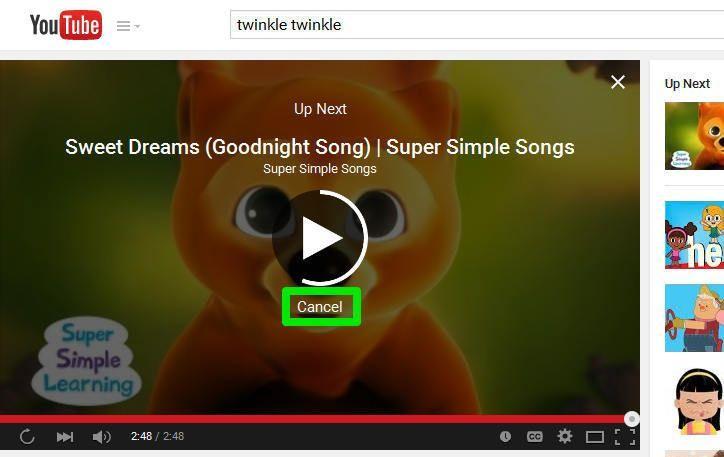 Come disattivare l'AutoPlay su Youtube