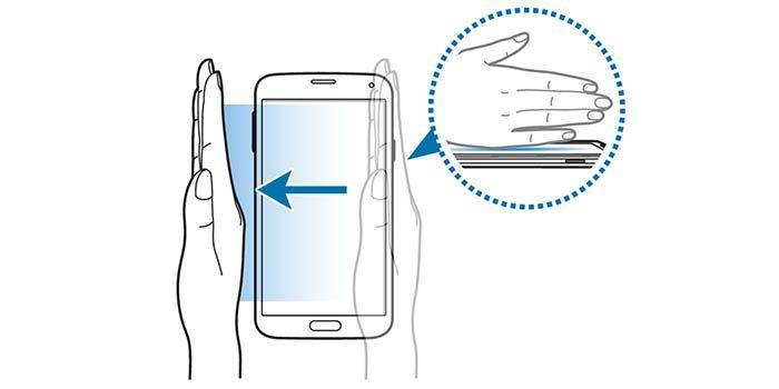 Come effettuare uno screenshot con un colpo di mano su smartphone Galaxy