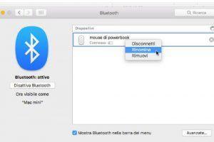 Come rinominare il nome di default di un dispositivo Bluetooth su Mac