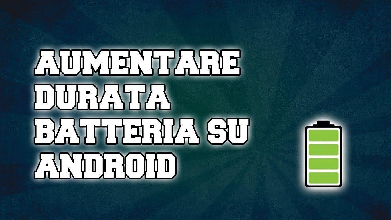 Come risparmiare batteria su Android con JuiceDefender