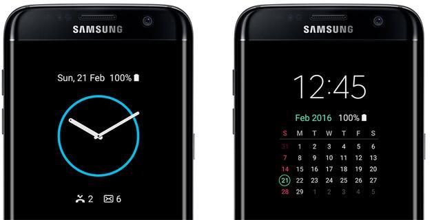 Come tenere lo schermo sempre attivo su Galaxy S7