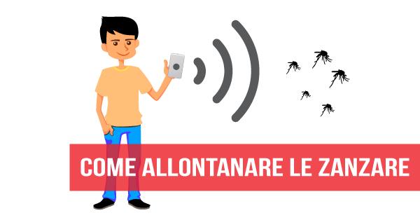 Come utilizzare il proprio smartphone per tenere lontano le zanzare