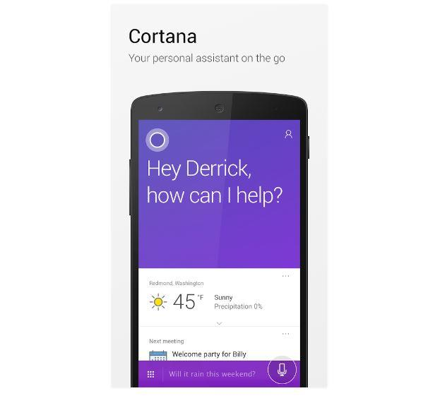 Cortana su Android
