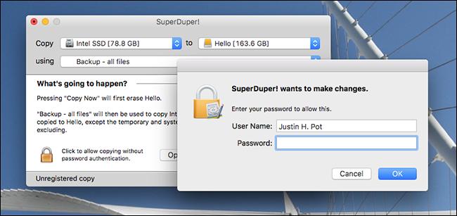 backup bootable da disco esterno su Mac - 2