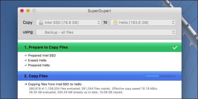 backup bootable da disco esterno su Mac - 3