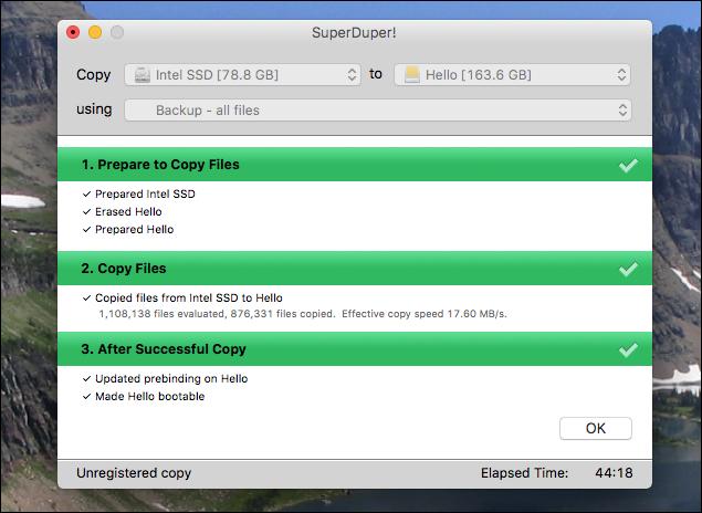 backup bootable da disco esterno su Mac - 4