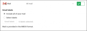 cancellare account google e gmail - step 1